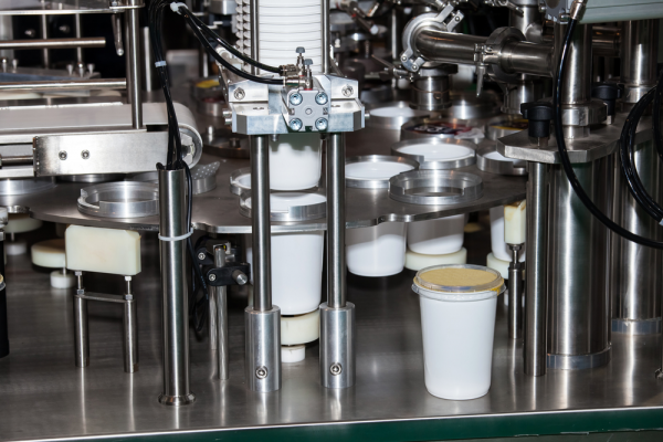 Ayran cup filling machine