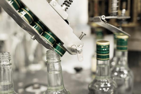 Glass Bottle Pilfer Proof Metal Cap Aluminium Capping Machine
