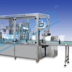Plastic Bucket Filling and Closing Machine Tetripak Machine (1)