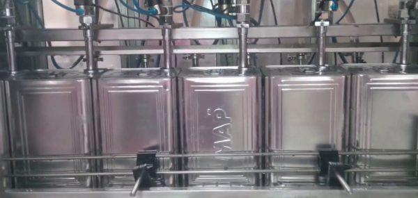 teneke dolum ve kapak kapama makinası tetripak makine