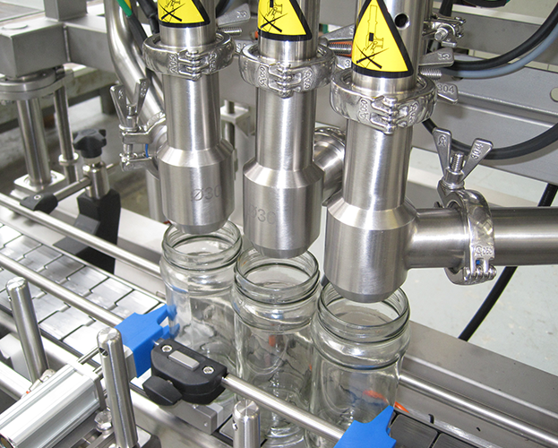 Bone and broth filling capping machine