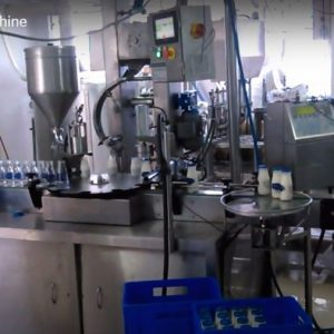 Glass Bottle Buttermilk Filling Machine Tetripak Machine Cup Filling Machine (1)